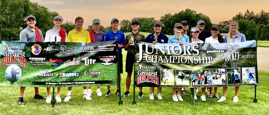 317 yds & 14 inches — Juniors shine at Trumbull CC drive, chip night